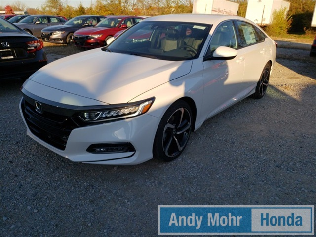 New 2018 Honda Accord Sport CVT 1.5T FWD 4D Sedan