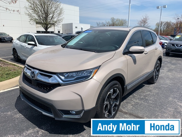 Certified Pre Owned 2017 Honda Cr V Touring