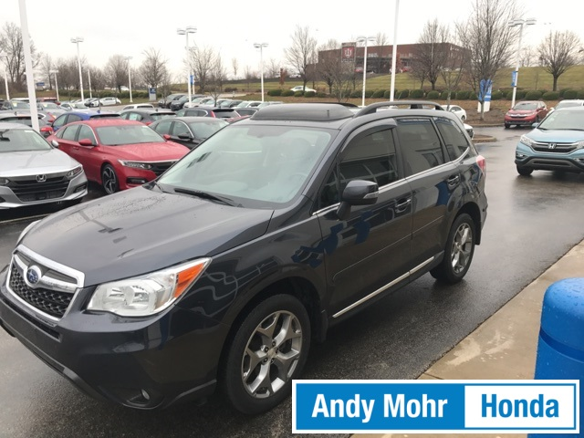 Pre Owned 2015 Subaru Forester 2 5i Touring For Sale Bloomington In